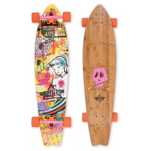 Лонгборд Dusters S6 GN4LW Longboard Multi 37 in 8,75