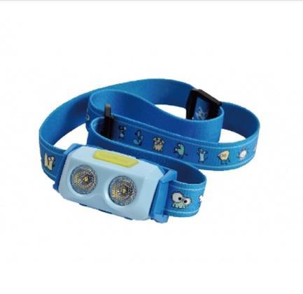 Фонарь налобный Ergate Minions for kids blue