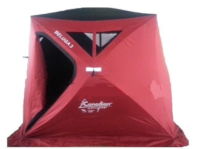 Палатка для зимней рыбалки CanadianCamper Beluga 2