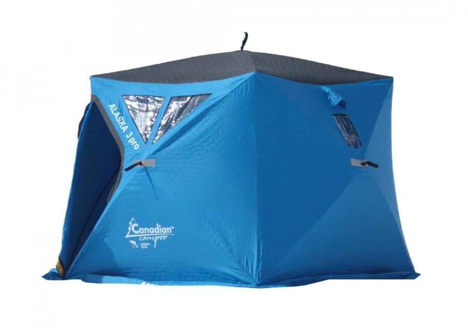 Палатка для зимней рыбалки Canadian Camper Beluga 3 Plus