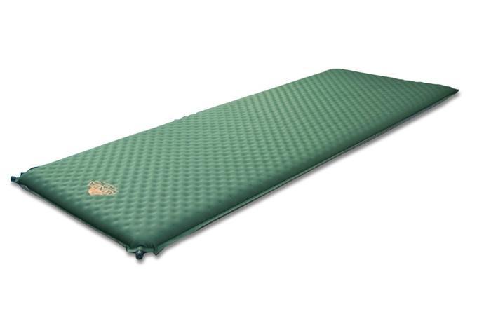 Самонадувающийся коврик Alexika Alpine Plus 80 pine green