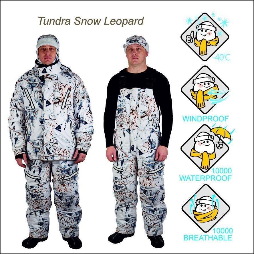 Костюм зимний CanadianCamper Tundra snow-leopard