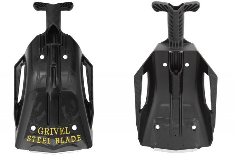 Лавинная лопата Grivel Steel Blade Black