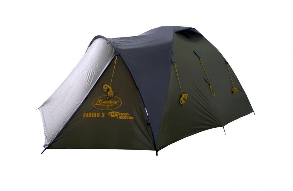 Палатка CanadianCamper Karibu 4 forest