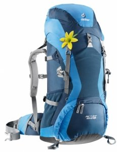 Рюкзак Deuter ACT lite 35+10 sl blue (steel/navy)