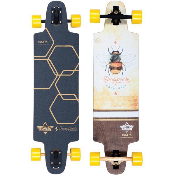 Лонгборд Dusters Lite Honeycomb Longboard Yellow 36