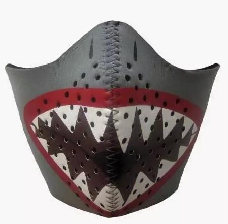 Детская ветрозащитная маска Bula акула