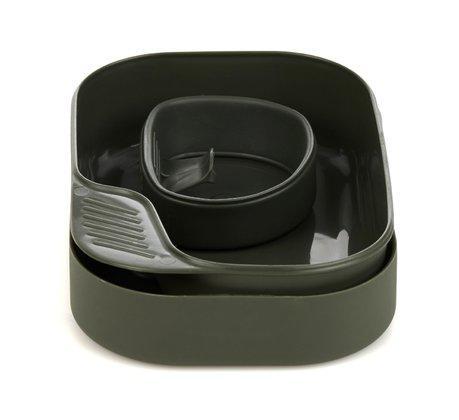 Набор туристической посуды Wildo Camp-A-Box Basic olive