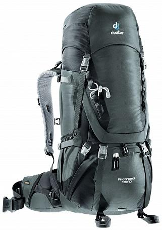 Рюкзак Deuter Aircontact 45 + 10 granite-black