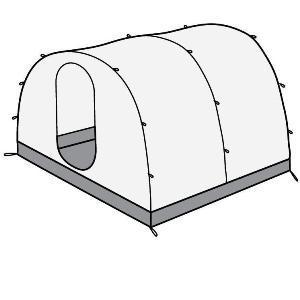 Жилой модуль для палатки Team Fox 2