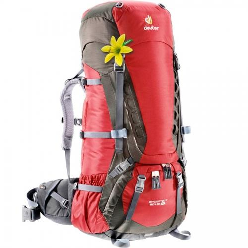 Рюкзак Deuter Aircontact 60+10 SL red/brown