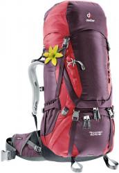Рюкзак Deuter Aircontact 60 + 10 SL aubergine-cranberry