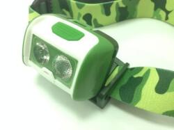 Фонарь налобный Ergate WALI green