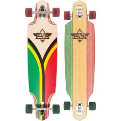 Лонгборд Dusters Flashback Longboard Rasta 38 in