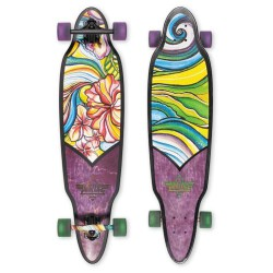 Лонгборд Dusters S6 Flora Longboard Purple/Green 37,5 in 9,5