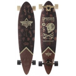 Лонгборд Dusters SS17 Moto Seaside Longboard Off White 37
