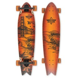 Лонгборд Dusters S6 Golden Longboard Sunburst Bamboo 38,5 in 8,625