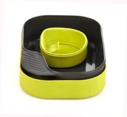 Набор туристической посуды Wildo Camp-A-Box Basic lime