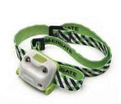 Фонарь налобный Ergate ET green