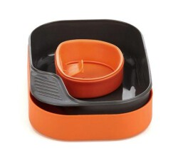 Набор туристической посуды Wildo Camp-A-Box Basic orange
