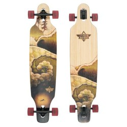 Лонгборд Dusters S6 Deep Drop-Through Longboard Bamboo
