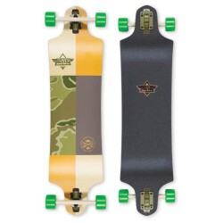 Лонгборд Dusters S6 Scout Drop-Down Longboard Kryptonics Green 38 in 9,75