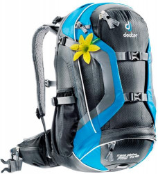 Рюкзак Deuter Trans Alpine Pro 24 SL blac/blue (black/turquoise)