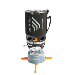 Комплект горелка с кастрюлей Jetboil MicroMo Carbon 0.8л